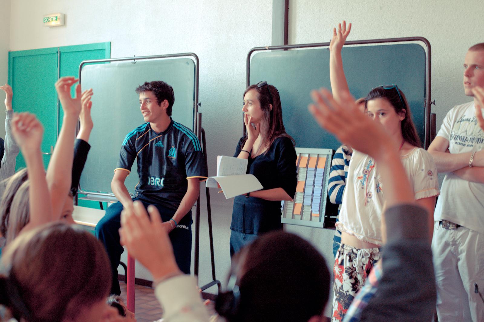 Formation des délégués d'élèves