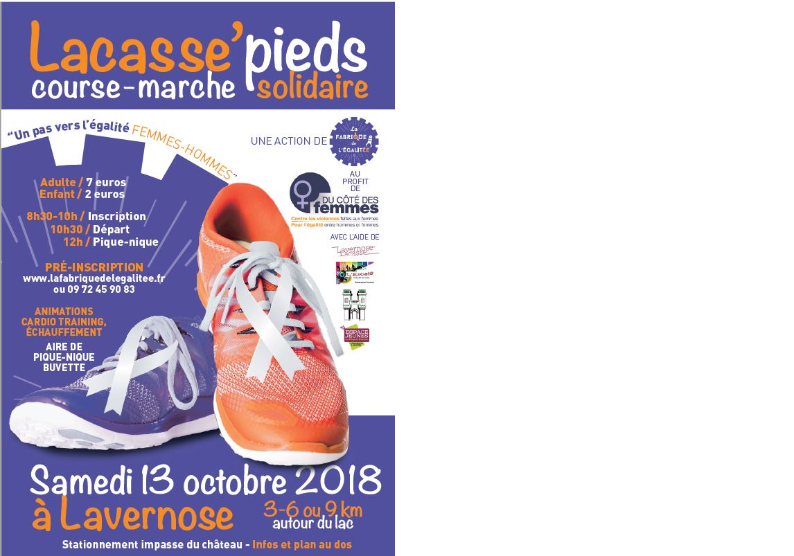 Course solidaire « Lacasse'pieds »